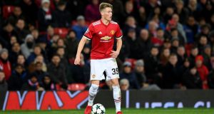 Scott McTominay has made a big impression at Manchester United so far this season. Photograph: Gareth Copley/Getty Images
