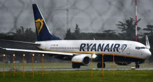 Some 79 Dublin-based Ryanair pilots plan to  strike  on  December 20th.  Photograph: Photograph: AFP