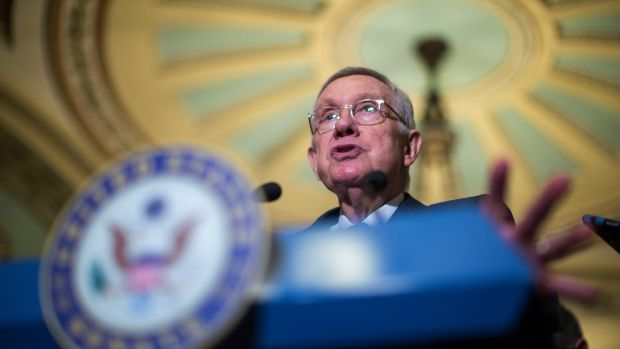 Harry Reid is the Nevada Democrat long known for his enthusiasm for space phenomena