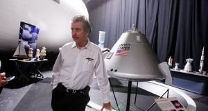 Robert Bigelow, a billionaire aerospace entrepreneur and longtime friend   in North Las Vegas, Nevada in April 2010. File photograph: Isaac Brekken/The New York Times