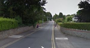 Part of Adelaide Road in Glenageary where a man has  died following a car crash. Source: Google Street View