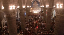 Renowned Syrian choir spreads Christmas cheer in Damascus