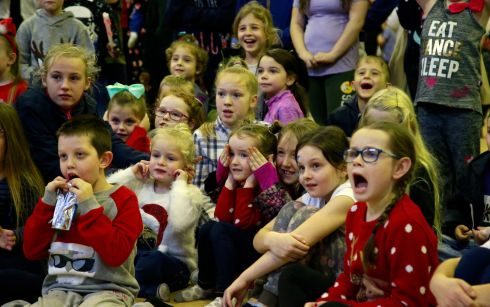 CHRISTMAS CRACKER: event at Darndale Community Centre. Photograph Nick Bradshaw