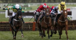 December racing at Cheltenham. Britain's racecourses attract more than 6m  people a year, many of them new to or unfamiliar with the sport.  Photograph: Getty Images
