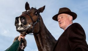 Douvan won't run this season, his trainer Willie Mullins announced on Sunday. Photograph: James Crombie/Inpho