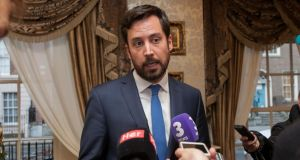 Minister for Housing Eoghan Murphy is to announce a number of changes to planning guidelines largely in relation to apartment buildings. Photograph: Gareth Chaney/Collins