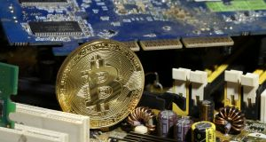 Bitcoin futures received a lukewarm reception at its launch on the CME Group Inc on Sunday, although market experts believe a recent rally in the cryptocurrency has further to go.  Photograph: Dado Ruvic/Reuters