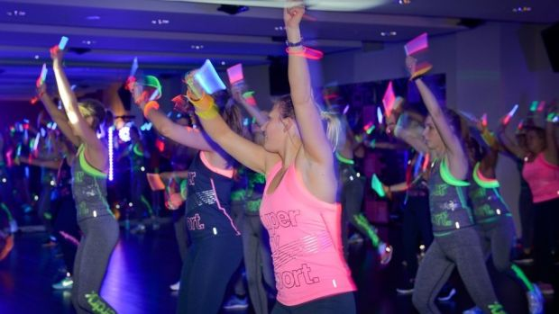 Clubbercise mixes easy-to-follow aerobic classics with club classics from the '90s.