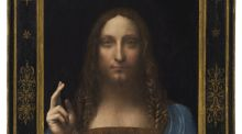 Salvator Mundi, by Leonardo da Vinci, became the most expensive painting ever sold at auction when it made $450 million at Christie's, New York in November.