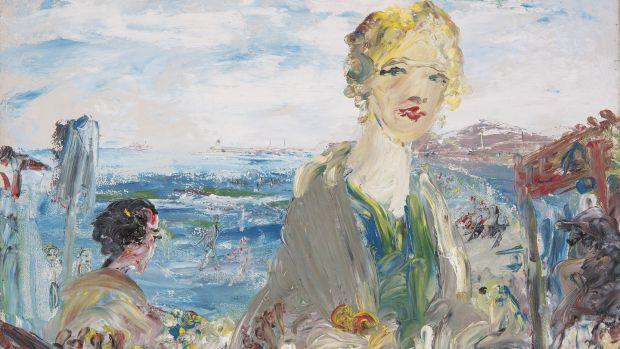 By Merrion Strand, by Jack B Yeats, sold for €450,000.