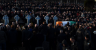 Thousands of mourners gathered for the funeral of Northern Ireland's former Deputy First Minister Martin McGuinness in Derry in March 2017. Photograph: Charles McQuillan/Getty Images