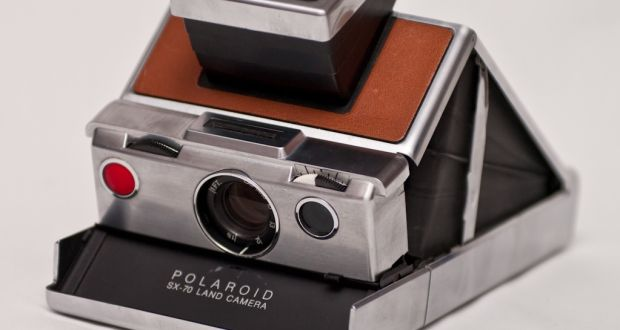 There was something mesmerising about watching the image you had just taken emerge on that distinctive shaped Polaroid paper