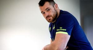 Leinster's Cian Healy will face a hearing in London on Wednesday. Photograph: Bryan Keane/Inpho