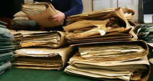 State files have been released under the 30-year rule at the National Archives. Photograph: Frank Miller