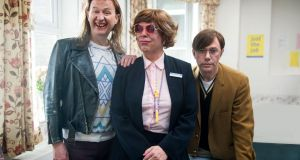 Mickey (Mark Gatiss), Pauline (Steve Pemberton), and Ross (Reece Shearsmith) in 'The League of Gentlemen'. Photograph: James Stack/BBC