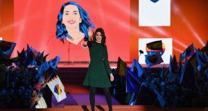 Candidate for the centre-right party Ciudadanos Inés Arrimadas: has become the leading unionist figure in the northeastern region and  polls suggest her party is a contender to win Thursday's election.Photograph: Jeff J Mitchell/Getty Images