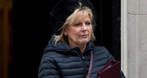 Labour MP Anna Soubry: one of several MPs who have received violent threats on Twitter. Photograph:  Ben Pruchnie/Getty Images