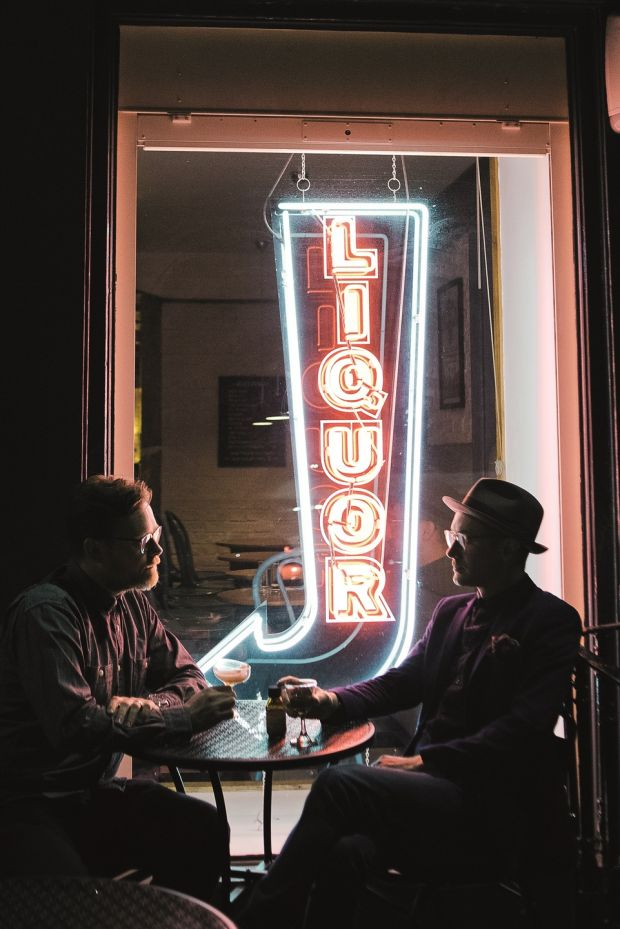 Joel Harrison and Neil Ridley, authors of Straight Up: Where To Drink and What To Drink