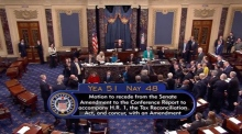 US Senate passes landmark tax Bill