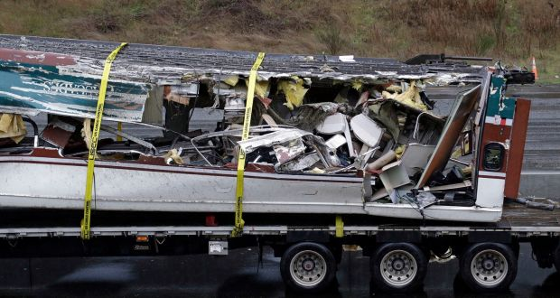 US train crash investigators look at whether driver was