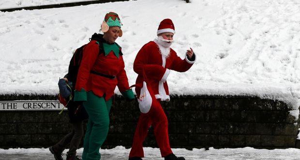 Bah Humbug No White Christmas As Temperatures Above Normal