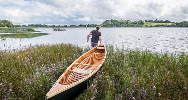 Jonathan Russell returned from Canada and set up Nua Canoe. Photograph: Johnjoe Nugent/Decrevi Photography