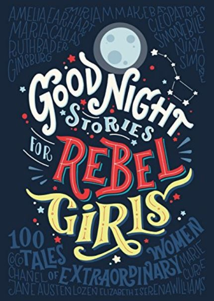 And the most popular children's book mentioned in our Twitter poll was ... Good Night Stories for Rebel Girls by Elena Favilli And the most popular children's book mentioned in our Twitter poll was ... Good Night Stories for Rebel Girls by Elena Favilli