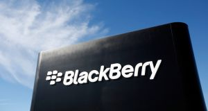 Canadian software maker BlackBerry Ltd posted a 24.9 per cent quarterly revenue decline on Wednesday