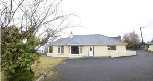€300,000 for a three-bed bungalow on Ferney Road, Carrigaline, Co Cork. Agent: DNG Michael Creedon