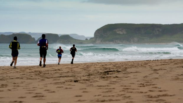 The Causeway Coast Marathon in Co Antrim event takes place on one of the country's most scenic coastlines.