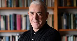"Theo Dorgan: ""Then, as now, all I ever wanted was to feel fully myself and at home in the world."" Photograph: Dara Mac Dónaill"
