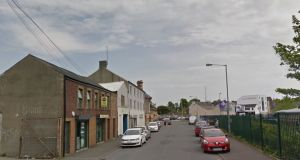 In a search at a business in the Charles Street area (general view above) of Lurgan, psychoactive substances worth an estimated £400,000 were seized along with tablets and two industrial tablet presses. File photograph: Google Street View
