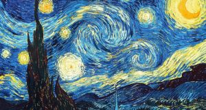 'Starry Night': it seems probable that Van Gogh was gifted with a profound intuitive feeling for turbulence and that this is reflected in his paintings.