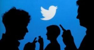 Approximately 32 per cent of Irish firms said they used Twitter