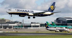 Ryanair said it had also submitted a set of proposals on pay and conditions for its Irish-based pilots. Photograph: AFP