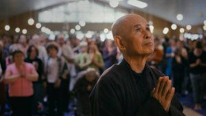 Thich Nhát Hanh: credited with introducing the concept of mindfulness to the West