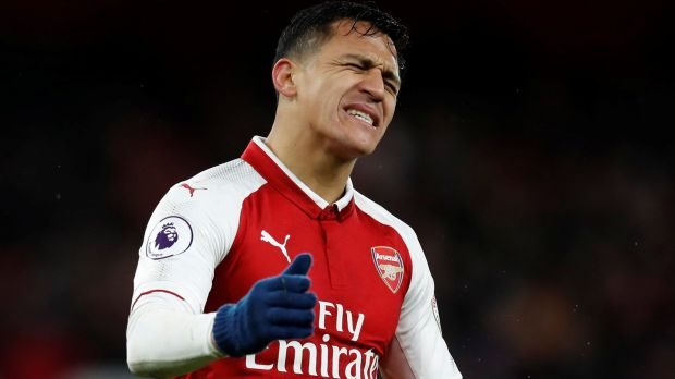 Arsenal forward Alexis Sanchez is in the final year of his contract at the Emirates. Photograph: Eddie Keogh/Reuters