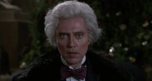 Played by Christopher Walken, business mogul Max Shreck in Batman Returns speaks in a weird, New York accent, and has weird, puffy hair. Sound familiar?