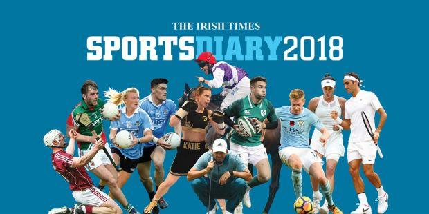 The Irish Times   Sports Calendar 2018