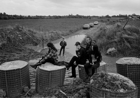 "All photographs copyright Tony O'Shea - ""Border Roads""1990 -1994 is available from caferoyalbooks.com"