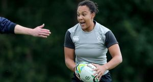 Sophie Spence has announced her retirement from international rugby. Photo: Dan Sheridan/Inpho