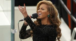 Beyoncé. Pretax profits at Sony's Irish subsidiary rose from €312,000 to €1.2 million in the 12 months to March. Photograph: Reuters