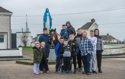 Horse Education Limerick Project Southside (Helps) are seeking a site for a proposed scheme which would allow horse owners to freely graze their horses on condition they are looked after properly.  Photograph: Brenda Fitzsimons / The Irish Times