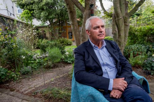 Peter Boylan, former Master of the National Maternity Hospital photographed at his home in Ranalagh after he resigned from the board with immediate effect.  Photograph: Brenda Fitzsimons / The Irish Times