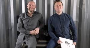 Let's go round again: Donagh Molloy, operations managerand Hugh Scully, founder and managing director of Dublin Vinyl