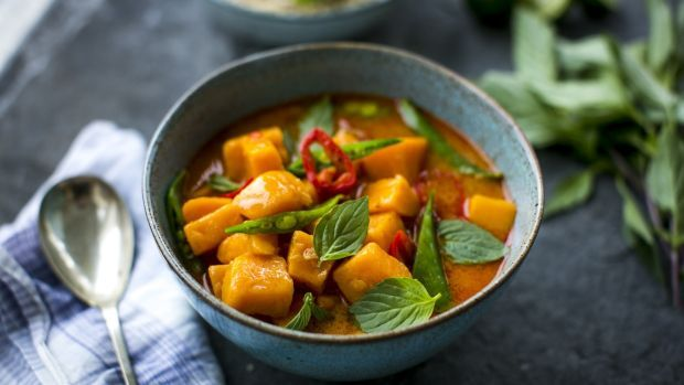 Donal Skehan's sweet potato stew with lemongrass and ginger brown rice