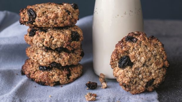 Roz Purcell's healthy breakfast cookies