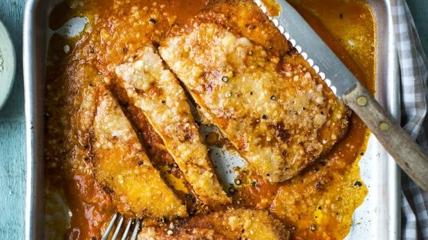 Chicken Parmesan, an Italian American favourite