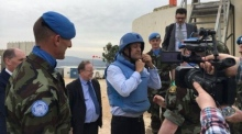 Varadkar visits Irish peacekeeping troops in Lebanon