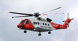 Rescue 116: the Sikorsky S-92 search-and-rescue helicopter that crashed. Photograph: Nick Bradshaw